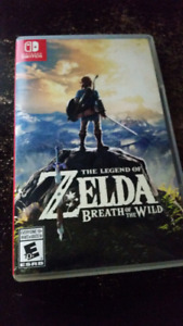Selling Breath Of The Wild For Nintendo Switch