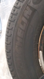 Winter tires Michelin X-ICE XI3 205/70R15 on steel rims