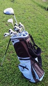 Bâtons de golf droitiers pour femme