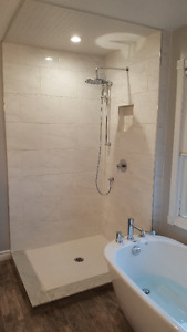 Complete bath and kitchen renovations