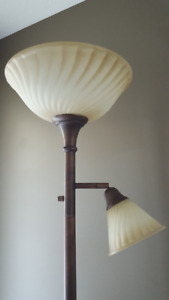 Torchiere Style Floor Lamp