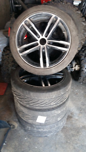 Chevy Colbalt or like custom Core Racing wheels and Nitro tires