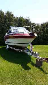 23 ft boat and trailer