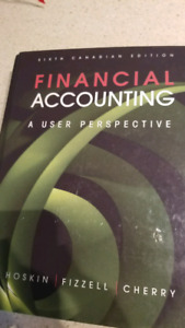 Financial Accounting sixth canadian edition