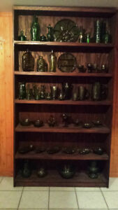 Collectibles Green Glass  Collection