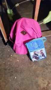 Backpack lunch box baby matt and baby bath tub Cambridge Kitchener Area image 1