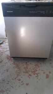 Frigidaire stainless steel dishwasher $480 OBO