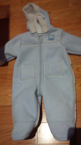 Snowsuit - Boys 0 - 3 mos.