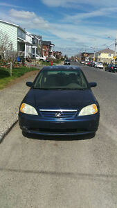 2002 Honda Civic Famillial Berline