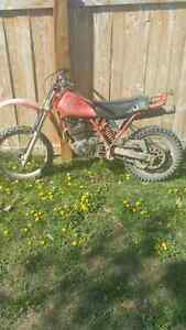 1982 Honda xr500r sell for 700obo today need money