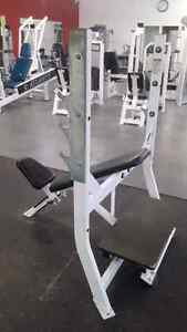 Hammer Strength Flat, Incline, Decline Olympic benches Kitchener / Waterloo Kitchener Area image 1
