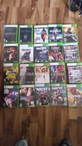 Xbox 360 games... Tons