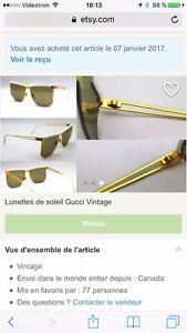 Lunettes Gucci vintage