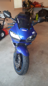 2000 YZF-R6 Blue - For Sale!!