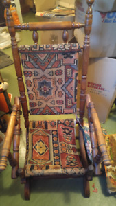 Very old antique rocking chair