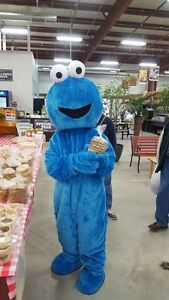 Cookie Monster adullt mascot costume