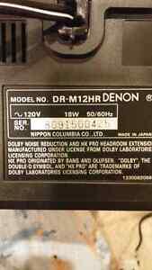 Denon DR-M12HR cassette tape deck Sarnia Sarnia Area image 5