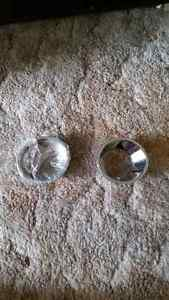 New fog lights chrome covers 00-06 BMW X5