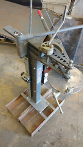 Tube Bender with attachments and dies