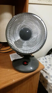 2 Parabolic Heaters - Ideal to Save power. Only 300W
