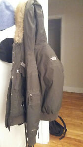 North Face manteau hiver winter jacket