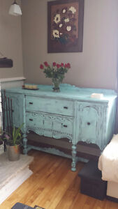 "Antique Shabby Chic Buffet -  Buffet Antique ""Shabby Chic"""