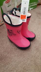 Size 4 rain boot