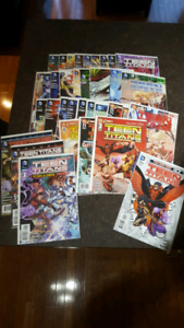 Teen Titans New 52 comic book complete run