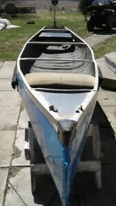 Canoe and Electric Motor