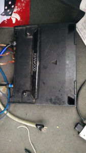 KENWOOD AMP AND PUNCH SUBWOOFER - works great