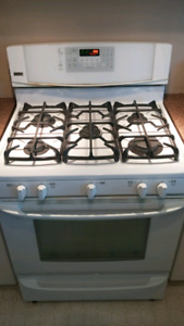 Kenmore gas convection stove