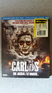 Carlos The Jackal / Carlos Le Chacal (Blu-Ray + DVD combo pack)