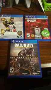 Ps4 games cheap need gone ASAP  Cambridge Kitchener Area image 1