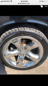 20 inch Crome rims only
