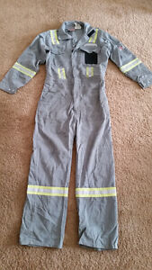 Coverall White Bear Workwear, size-38 R, used