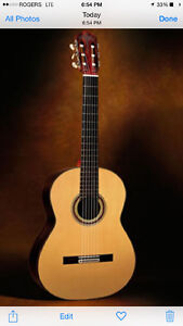 Vintage classical guitar wanted