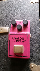 80's ibanez AD80 analog delay pedal. Very good condition
