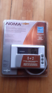 Programmable Thermostat/ NOMA/ Chauffage Climatisation New