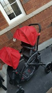 NEW STROLLER WITH DOUBLE SEATS!!!!!