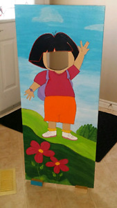 Dora costume and cut out