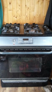 gas stove convection oven combo