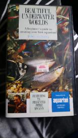 BEAUTIFUL UNDERWATER WORLDS VHS