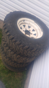 4 offest 15inch rims toyota bolt pattern. Need gone