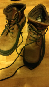 MENS WORK BOOTS STEEL TOE PROTECTION TOP Size 12.5