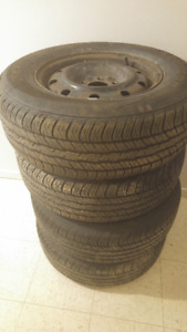Set of 4 Summer tires 215/70R15