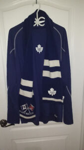 NHL maple leafs jersey/ leafs scarf