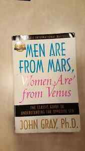Men are from Mars,  women are from venus book