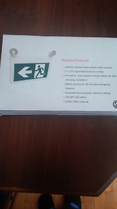 LED exit sign brand new in box