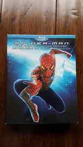 Spiderman blue ray trilogy