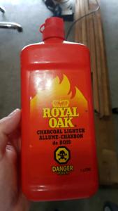 Full bottle of Carcoal BBQ lighter fluid